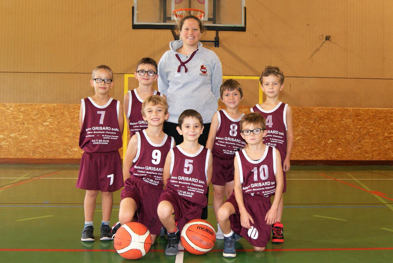 U9M - Côte Roannaise Alliance Basket