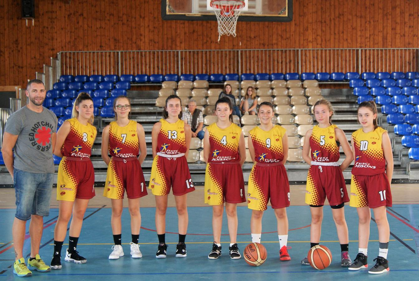 U15F - Côte Roannaise Alliance Basket